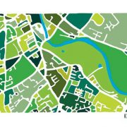 Kilkenny City Illustrated Map Print