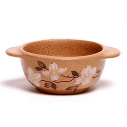 Dogwood onion bowl by Emmerson Creek Pottery