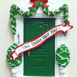 green-door-personalized-christmas-ornament-1