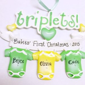 triplets-first-christmas-ornament